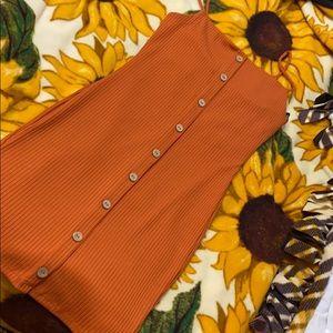 Orange dress from Forever 21!